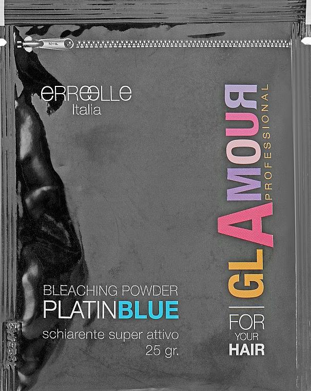 Голубой порошок для осветления волос - Erreelle Italia Glamour Professional Expo Blue Bleaching Powder