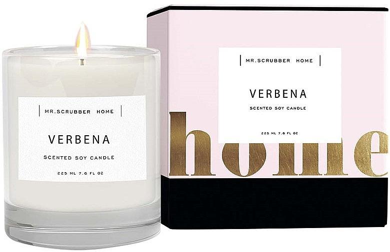 Mr.Scrubber Verbena - Ароматическая свеча