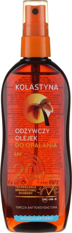 Масло-спрей для загара водостойкое с SPF 20 - Kolastyna