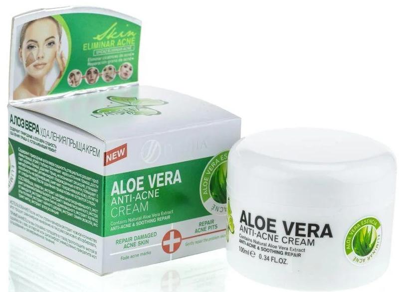 Крем для проблемной кожи - Dizao Danjia Aloe Vera Anti-Acne Cream