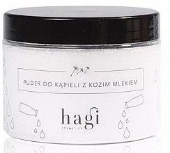 Духи, Парфюмерия, косметика Пудра для ванны с козьим молоком - Hagi Bath Puder