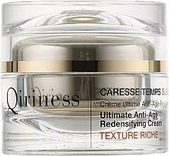 Антивіковий відновлювальний крем для обличчя - Qiriness Ultimate Anti-Age Redensifying Cream Rich — фото N1