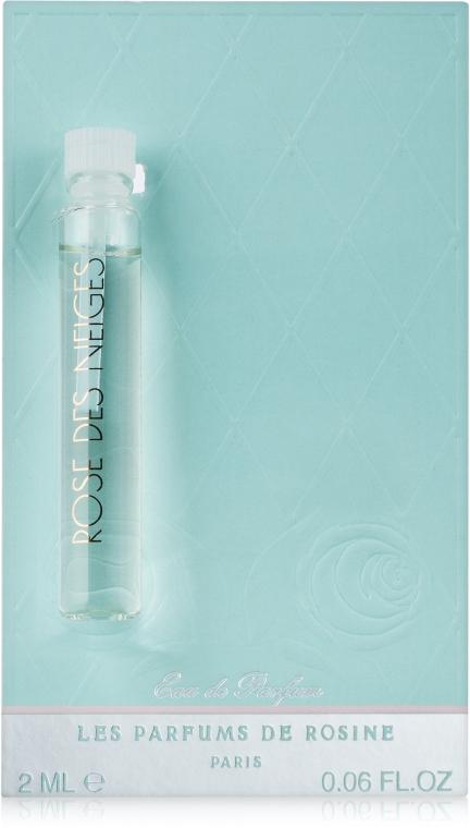 Parfums de Rosine Rose des Neiges - Парфюмированная вода (пробник)