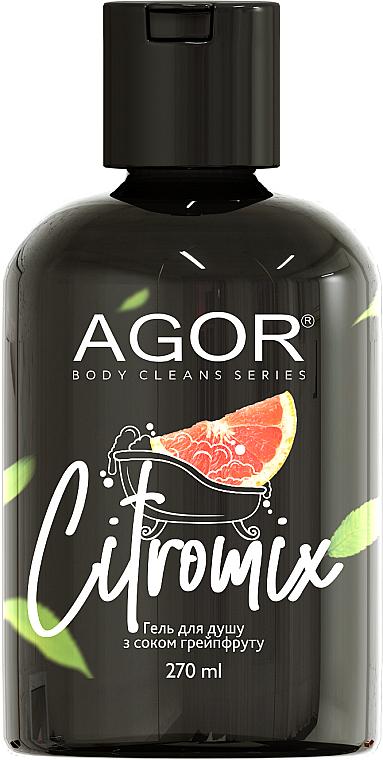 Гель для душа с соком грейпфрута - Agor Body Cleans Series Citromix Shower Gel