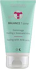 Духи, Парфюмерия, косметика Пилинг-гоммаж для лица с кислотами - Floslek Balance T-Zone Gommage Peeling With AHA Acids