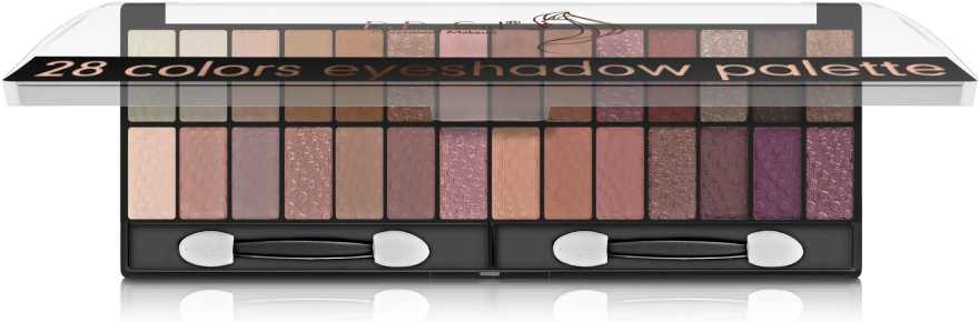 Палетка для макияжа глаз - DoDo Girl 28 Colors Eyeshadow Palette