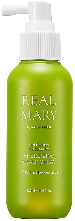 Энергетический спрей для кожи головы на основе холодного настоя розмарина - Rated Green Real Mary Energizing Scalp Spray