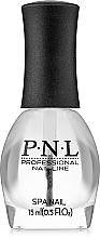 Парфумерія, косметика Верхнє покриття - PNL Professional Nail Line Top Coat Gel Look