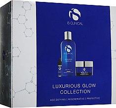Духи, Парфюмерия, косметика Набор - iS Clinical Luxurious Glow Collection (cleans/gel/180ml+cr/50g+ser/3.75ml)