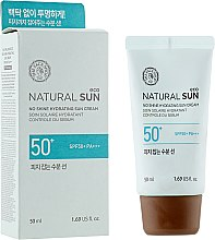 Духи, Парфюмерия, косметика Солнцезащитный крем - The Face Shop Natural Sun Eco Sebum Control Moisture Sun SPF50+/PA++++