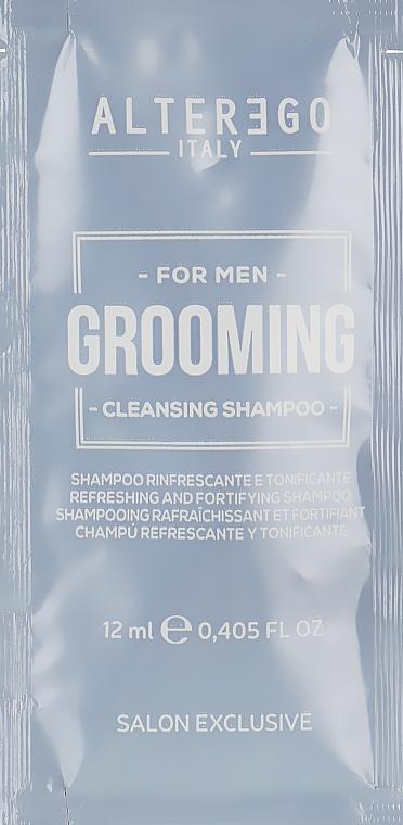 Освежающий шампунь для волос - Alter Ego Grooming Cleansing Shampoo (пробник)