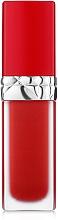 Духи, Парфюмерия, косметика Жидкая помада для губ с цветочным маслом - Dior Rouge Dior Ultra Care Liquid