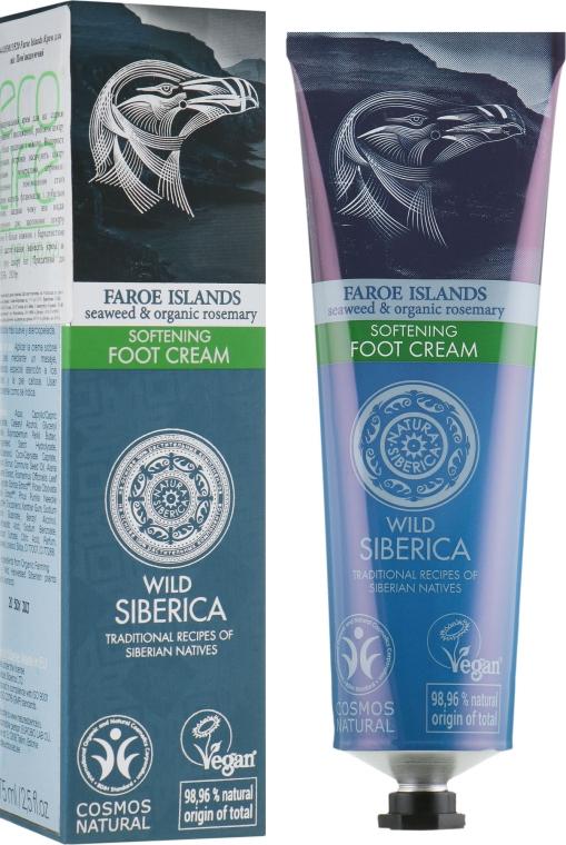Смягчающий крем для ног - Natura Siberica Faroe Islands Softening Foot Cream