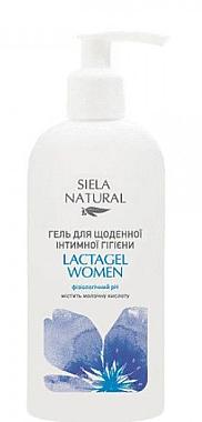 Гель для ежедневной интимной гигиены с молочной кислотой - Siela Cosmetic
