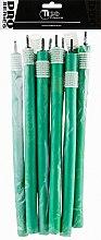 Духи, Парфюмерия, косметика Бигуди гибкие, 240мм, d16, темно-зеленые - Tico Professional