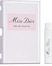 Духи, Парфюмерия, косметика Dior Miss Dior Eau De Toilette - Туалетная вода (пробник)