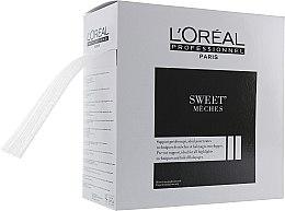 Духи, Парфюмерия, косметика Экологичная бумага для осветления волос - L'Oreal Professionnel Sweet Meches