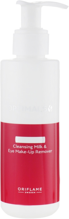 Антивозрастное очищающее молочко - Oriflame Optimals Age Revive Anti-Ageing Cleansing Milk&Eye Make-up Remover
