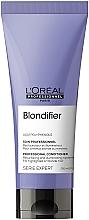 Духи, Парфюмерия, косметика Кондиционер-сияние для волос, восстанавливающий - L'Oreal Professionnel Serie Expert Blondifier Illuminating Conditioner