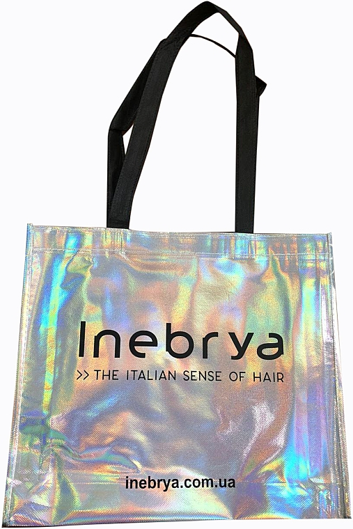 Сумка-шопер у подарунок, за умови придбання продукції Inebrya на суму від 465 грн