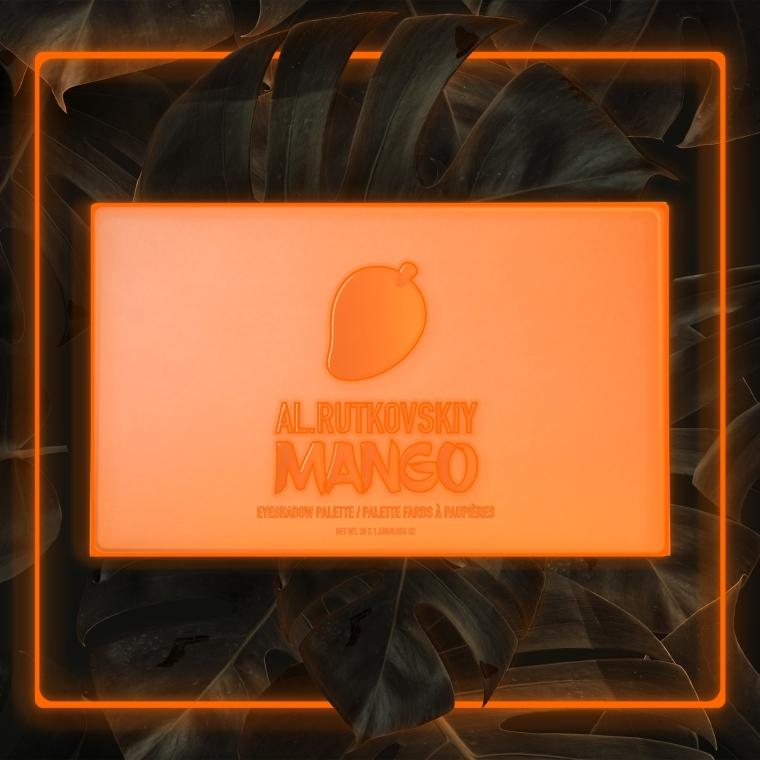 Палетка теней для век - AL.Rutkovskiy Mango Eyeshadow Palette