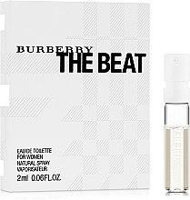 Духи, Парфюмерия, косметика Burberry The Beat - Туалетная вода (пробник)