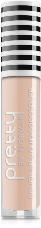 Жидкий консилер - Flormar Pretty Cover Up Liquid Concealer