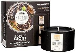 Духи, Парфюмерия, косметика Ароматическая свеча - House of Glam Black Pepper&Coffee Candle