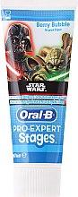 Духи, Парфюмерия, косметика Детская зубная паста - Oral-B Stages Toothpaste Star Wars