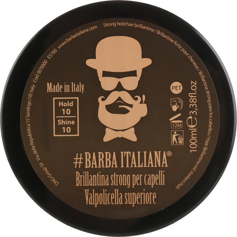 Бриолин для волос сильной фиксации - Barba Italiana Valpolicella Superiore