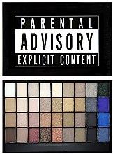 Духи, Парфюмерия, косметика Палетка теней - Makeup Revolution I Heart Makeup Slogan Palette Explicit Content