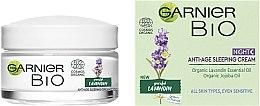 Духи, Парфюмерия, косметика Ночной антивозрастной крем для лица с экстрактом лавандину - Garnier Bio Lavandin Anti-Age Sleeping Cream
