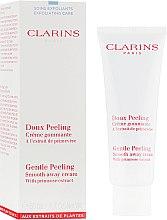 Духи, Парфюмерия, косметика Смягчающий и отшелушивающий крем с натуральными микрогранулами - Clarins Gentle Peeling Smooth Away Cream