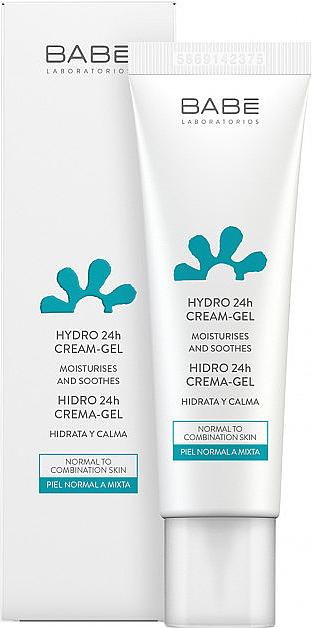 """Крем-гель """"24 часа увлажнение и смягчение"""" - Babe Laboratorios Hydro 24h Cream"""