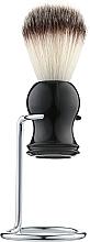 Парфумерія, косметика Помазок для гоління з підставкою, волос борсука, РР-04 - Beauty LUXURY