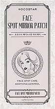 Духи, Парфюмерия, косметика Комплект патчей от прыщей и воспалений на лице - Kocostar Face Spot Mirror Patch