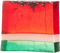 "Духи, Парфюмерия, косметика Мыло для тела ""Арбуз"" - Fresh Line Fresh Bar Body Watermelon & Prickly Pear Handmade Soap"