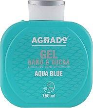 """Духи, Парфюмерия, косметика Гель для душа """"Чистая вода"""" - Agrado Aqua Blue Shower Gel"""
