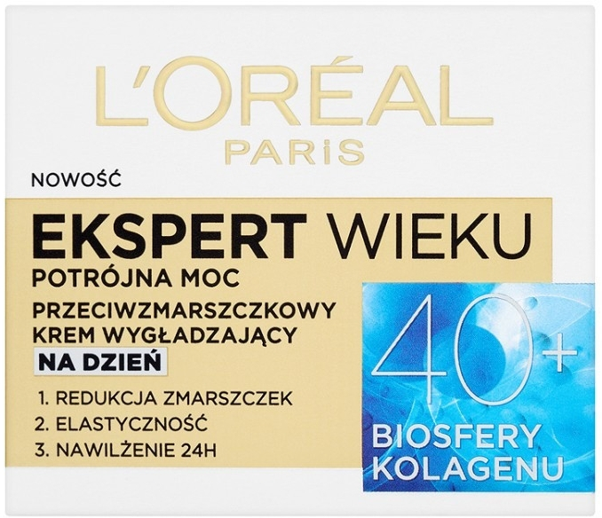 Дневной крем для лица - L'Oreal Paris Age Specialist Expert Day Cream 40+