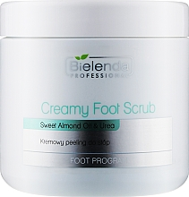 Духи, Парфюмерия, косметика Кремовый скраб для ног - Bielenda Professional Foot Paradise Creamy Foot Scrub With Almond Oil And Urea