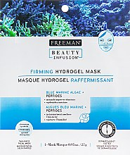 "Духи, Парфюмерия, косметика Гидрогелевая маска для лица ""Синие морские водоросли и пептиды"" - Freeman Beauty Infusion Firming Hydrogel Mask"