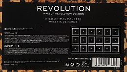 Палетка теней для век - Makeup Revolution Wild Animal — фото N5