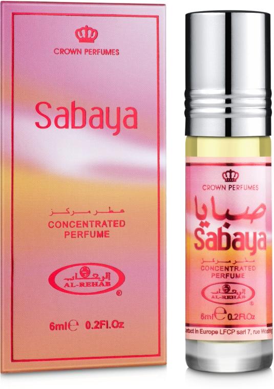 Al Rehab Sabaya - Масляные духи (мини)