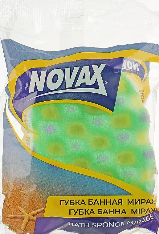 """Губка банная """"Mirage"""", салатовая - Novax"""