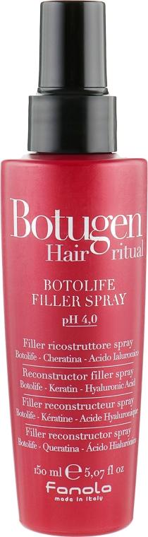 Филлер-спрей для реконструкции волос - Fanola Botugen Hair System Botolife Filler Spray
