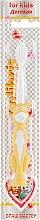 Духи, Парфюмерия, косметика Детская зубная щетка, 0919, желтая - Colibris Soft