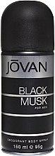 Духи, Парфюмерия, косметика Jovan Black Musk For Men - Дезодорант