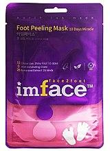 Духи, Парфюмерия, косметика Маска-пиллинг для ног - Imface Foot Peeling Mask