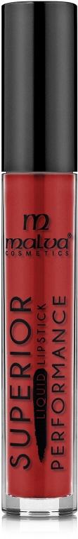 Жидкая помада для губ - Malva Cosmetics Superior Liquid Lip Gloss