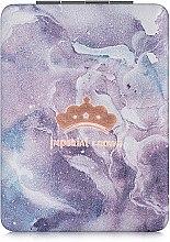 """Духи, Парфюмерия, косметика Зеркало косметическое прямоугольное, """"Imperial Crown"""", фиолетовое - Lily Cosmetics"""
